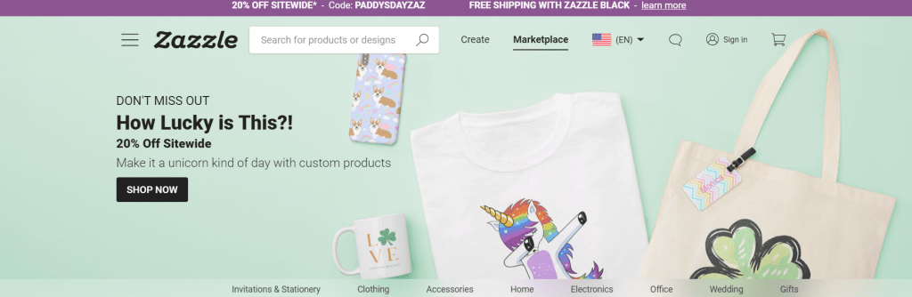 Zazzle-sell-online