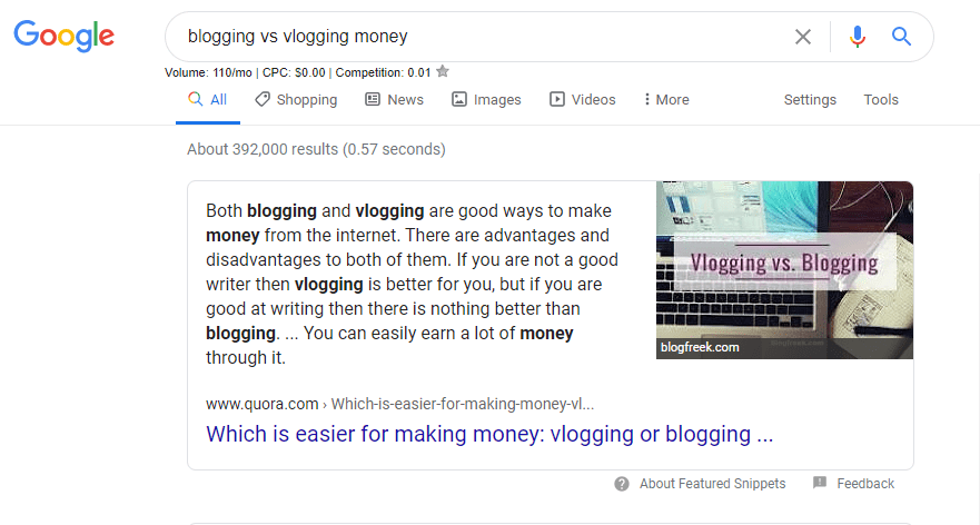 Quora-google-results