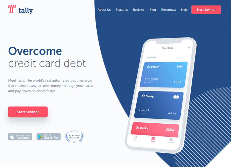 Tally-credit-card-debt