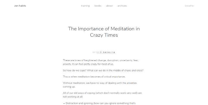 Zen-Habits