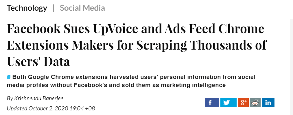 Facebook-sues-Upvoice