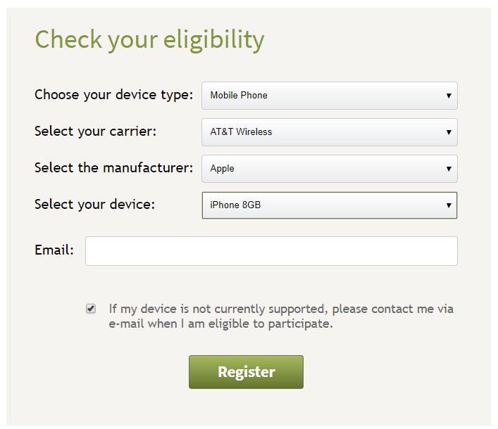 Check-Eligibility