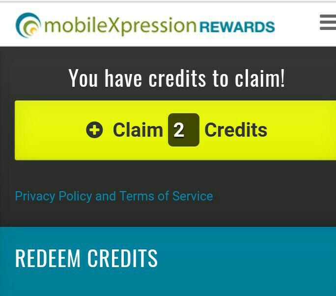 Claim-credits