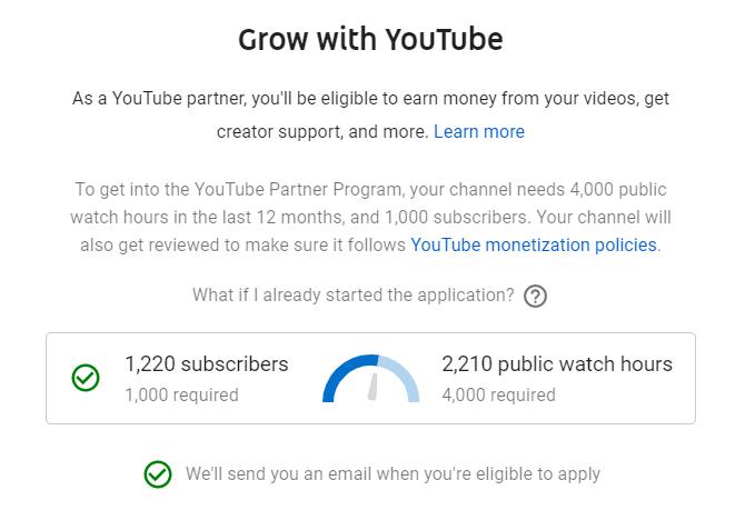 YouTube-Monetization