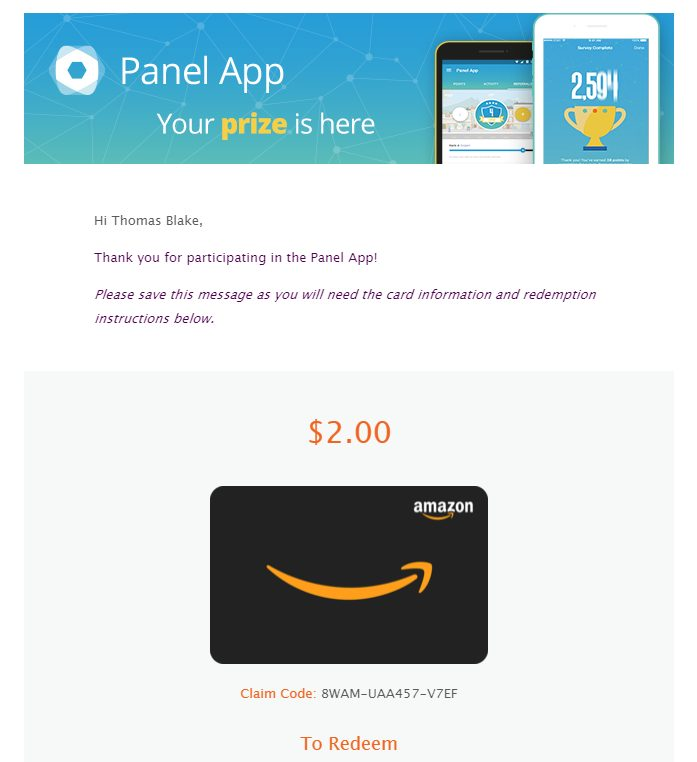 Panel-app-free-gift-card