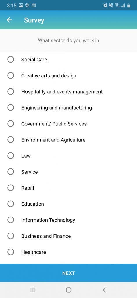 Panel-app-survey