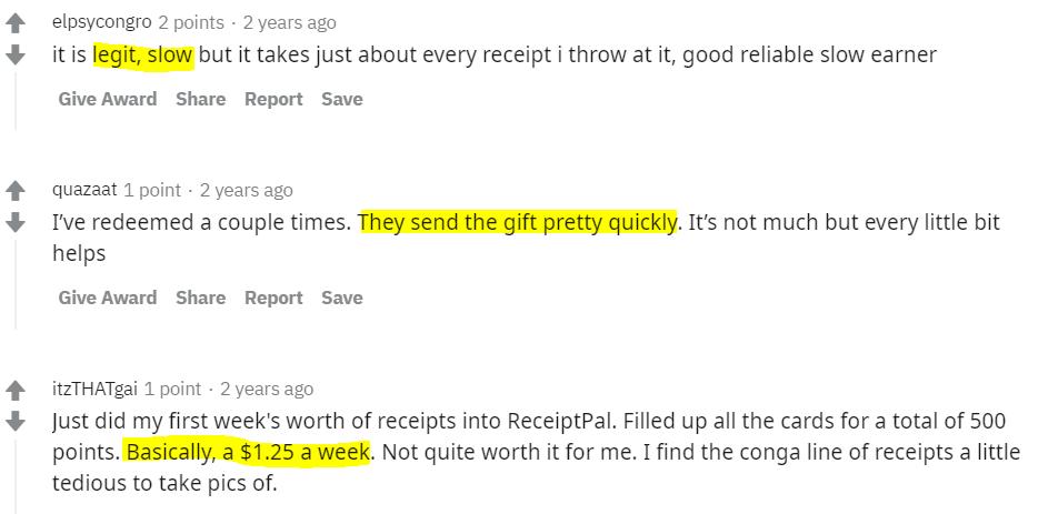 Reddit-review-ReceiptPal