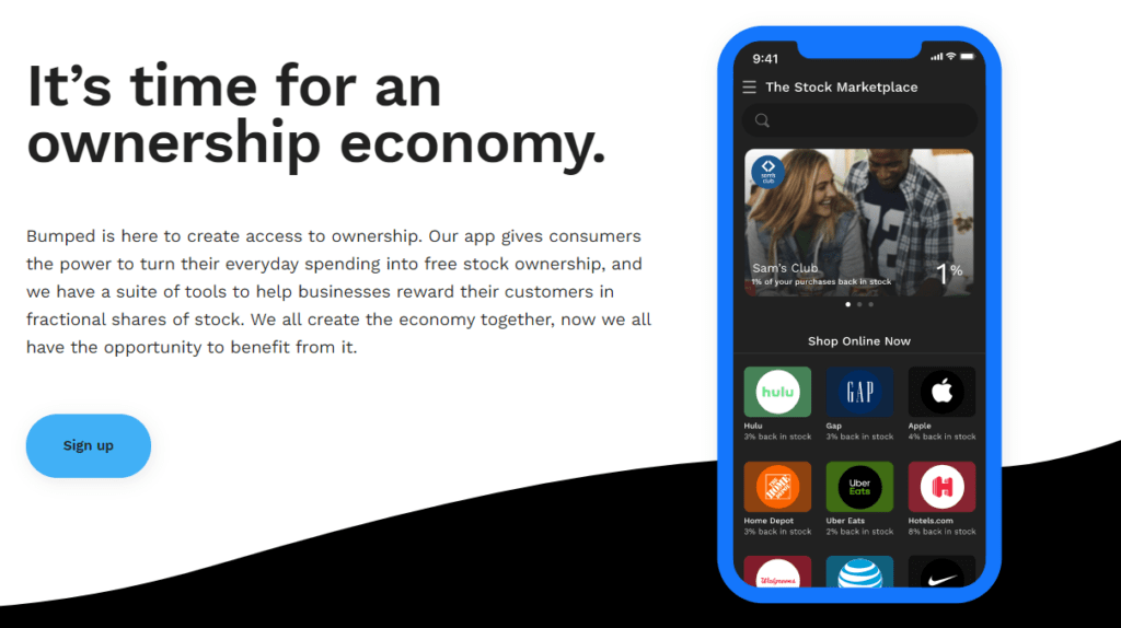 Bumped-app