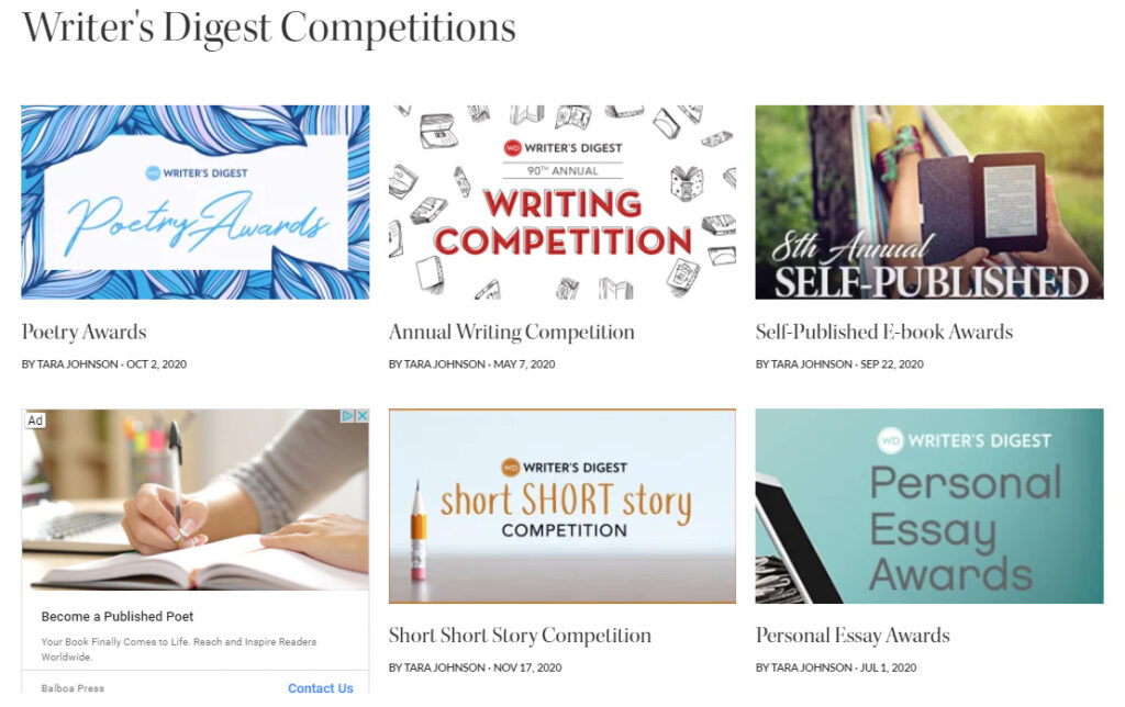 Writers-Digest-Contests