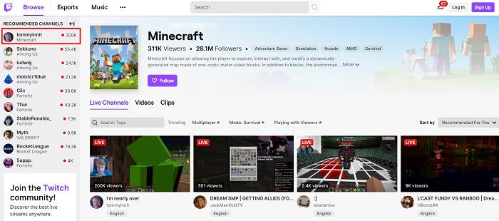 Stream-Minecraft-on-Twitch
