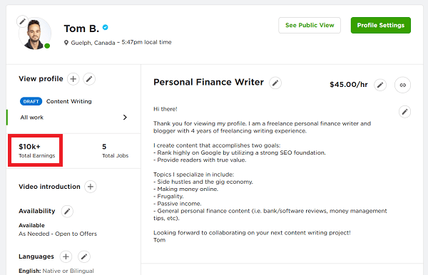 Consulting-on-Upwork