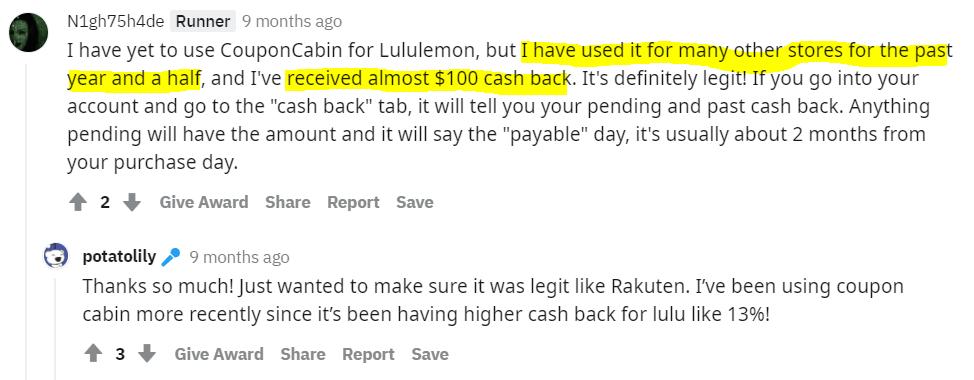 CouponCabin-reddit