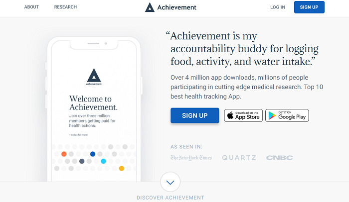 Achievement-app