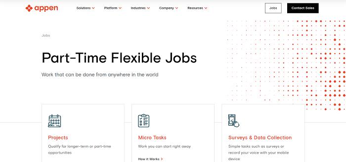 Appen-Jobs