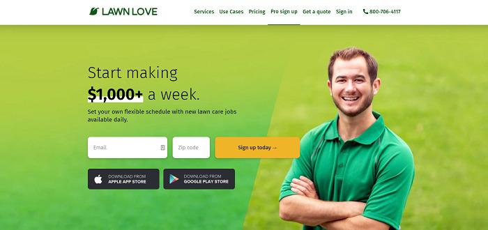Lawn-Love-gig-app