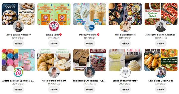 Pinterest-baking-accounts