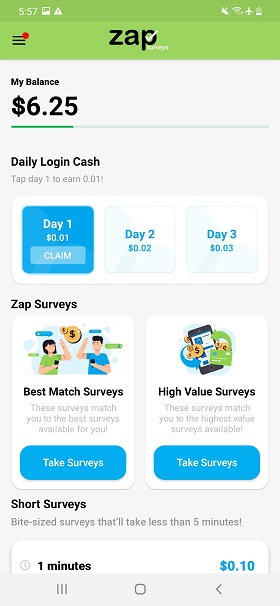 Zap-Surveys-app
