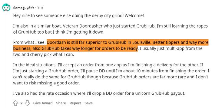DoorDash-vs-Grubhub-Reddit