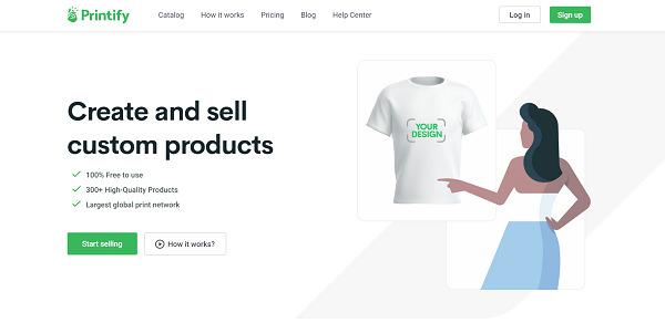 Sell-on-Printify