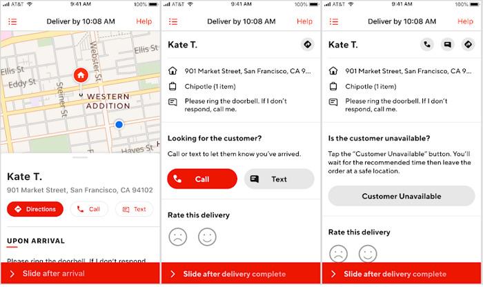 Customer-unavailable-DoorDash