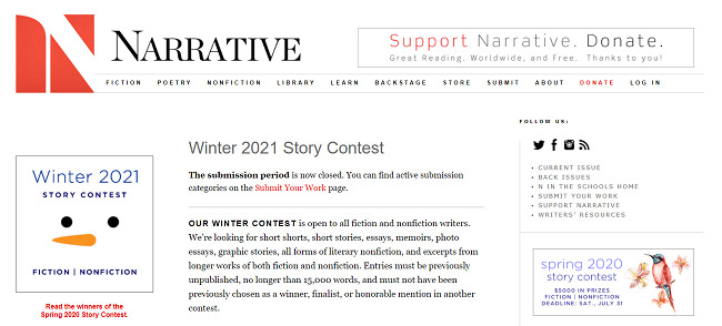 Short-story-competitions