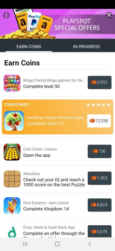 PlaySpot-offers