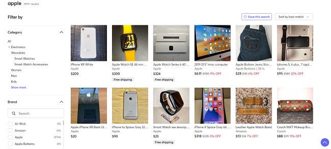 Apple-products-Mercari