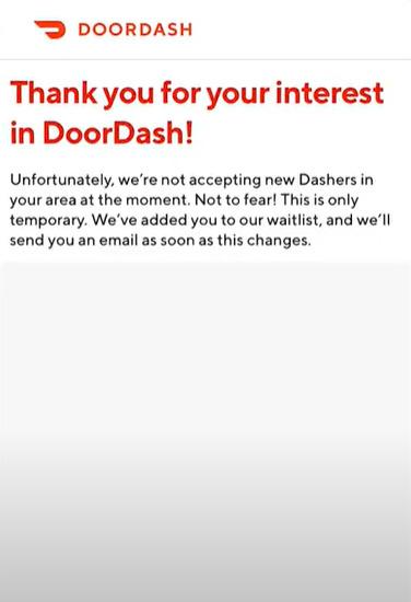 DoorDash-waiting-list