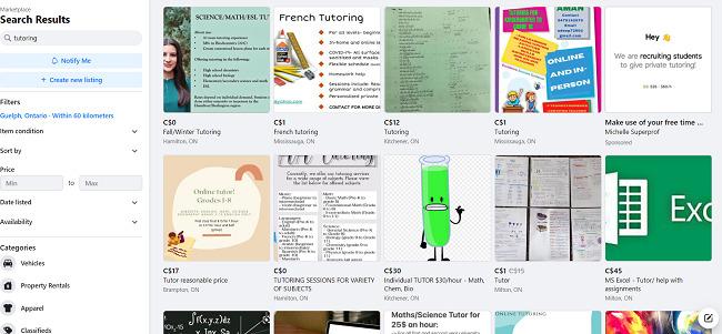 Facebook-Marketplace-online-tutoring