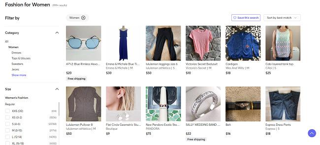 Mercari-clothing