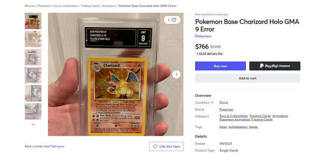 Mercari-pokemon-cards