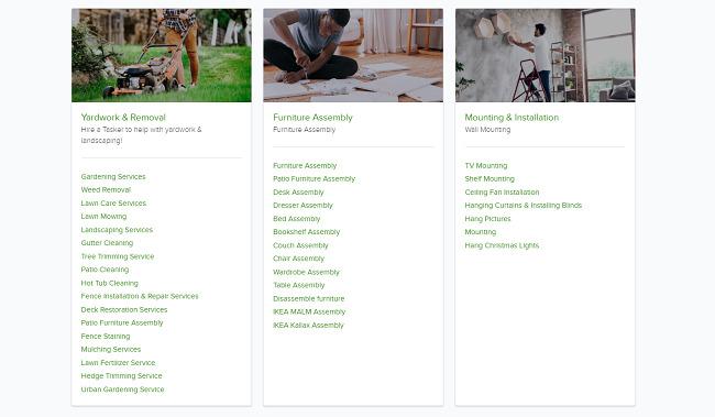 TaskRabbit-services