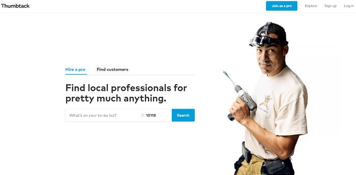 Thumbtack-website