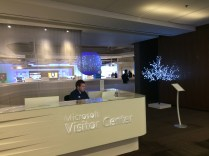 Inside the Microsoft Visitor Center