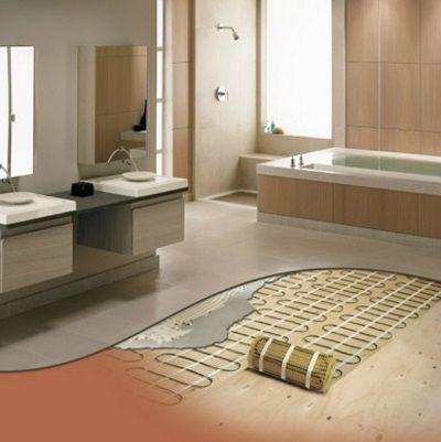 Good Heated Bathroom Floor Installing Radiant Floor Heat Blog Posts Mesmerizing Heated  Bathroom Floor Cost Along With Pictures