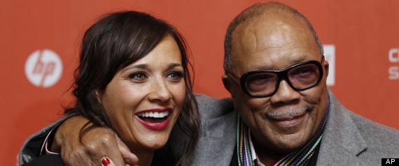Rashida Jones, Quincy Jones