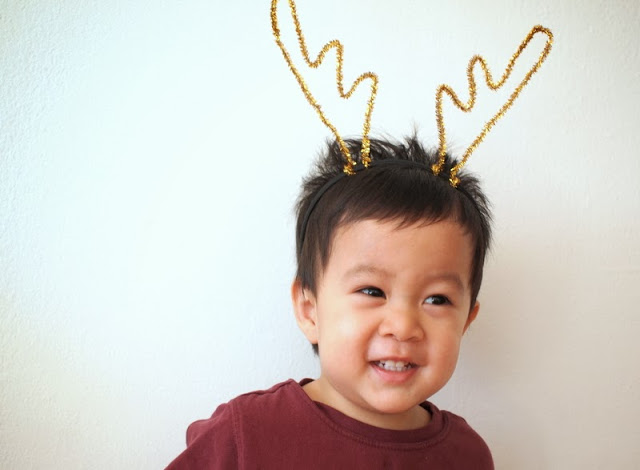 Imogene 39 s antlers antler accessories this picture book for Reindeer antlers headband craft