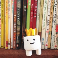 the adventures of beekle + marshmallow beekle craft