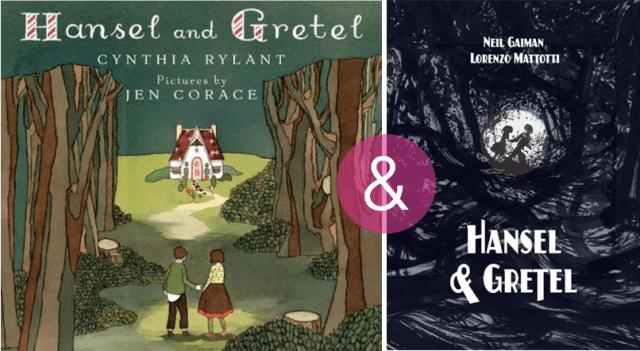 hansel&gretel-two-versions
