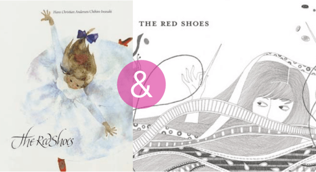 the-red-shoes-two-versions-picture-books