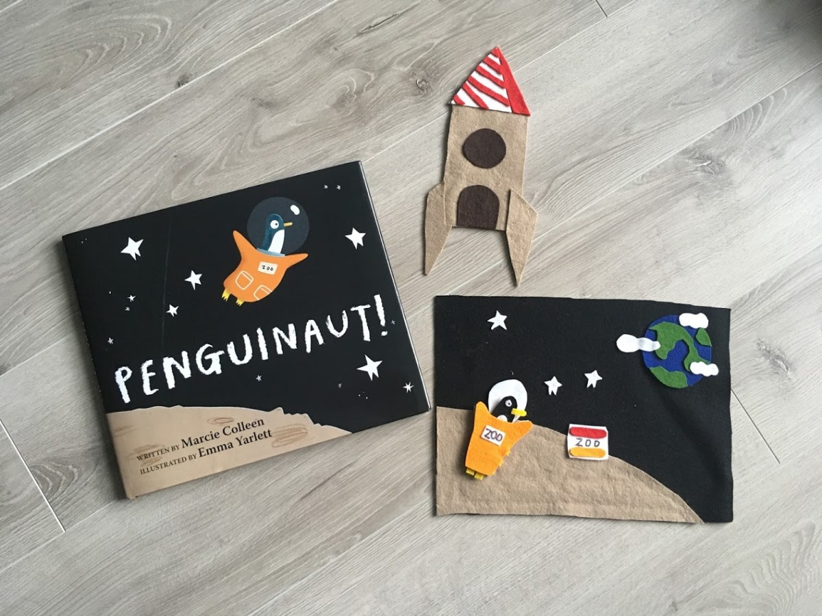 penguinaut + felt storytelling craft + giveaway!