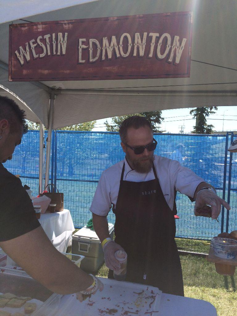 The Westin Edmonton's Chef Ryan O'Flynn