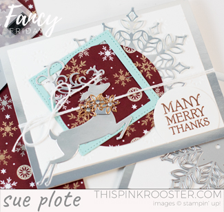Fancy Friday Blog Hop – My Christmas Card