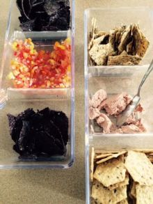 Chips and crackers and dips, oh my!