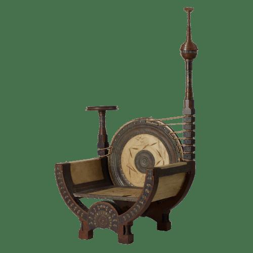 Carlo Bugatti Throne