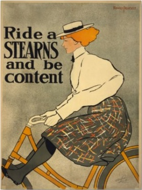 1896 Stearns Bicycle ad