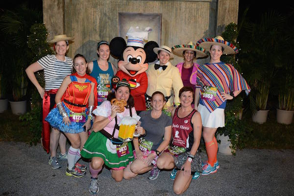 The Countries of Epcot Running Costumes