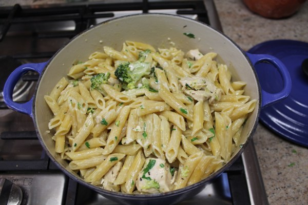 Cooked Chicken, Broccoli and ZitiCooked Chicken, Broccoli and Ziti