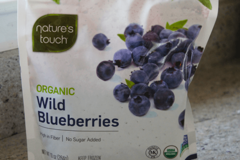 Nature's Touch Frozen Blueberry Package