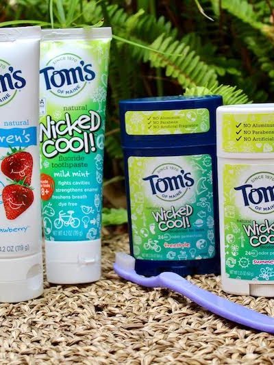 Toms of Maine Personal Care and Oral Care Back to School